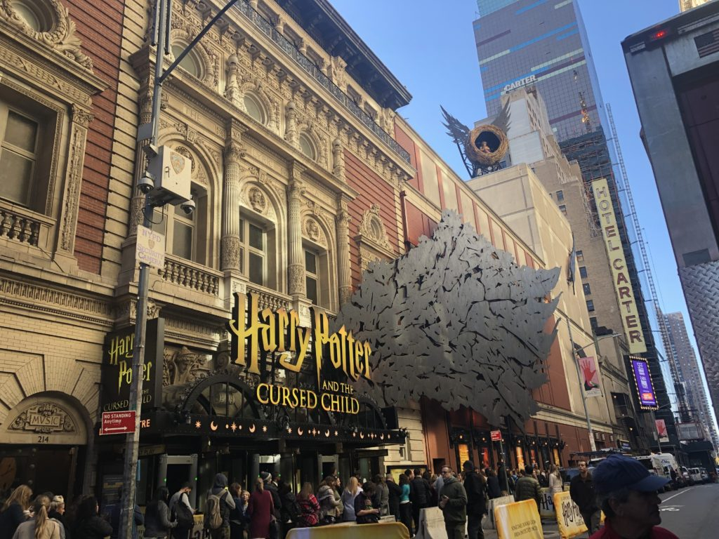 broadway theater closed harry potter
