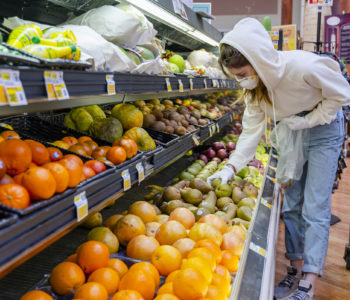 supermarket shopping during coronavirus