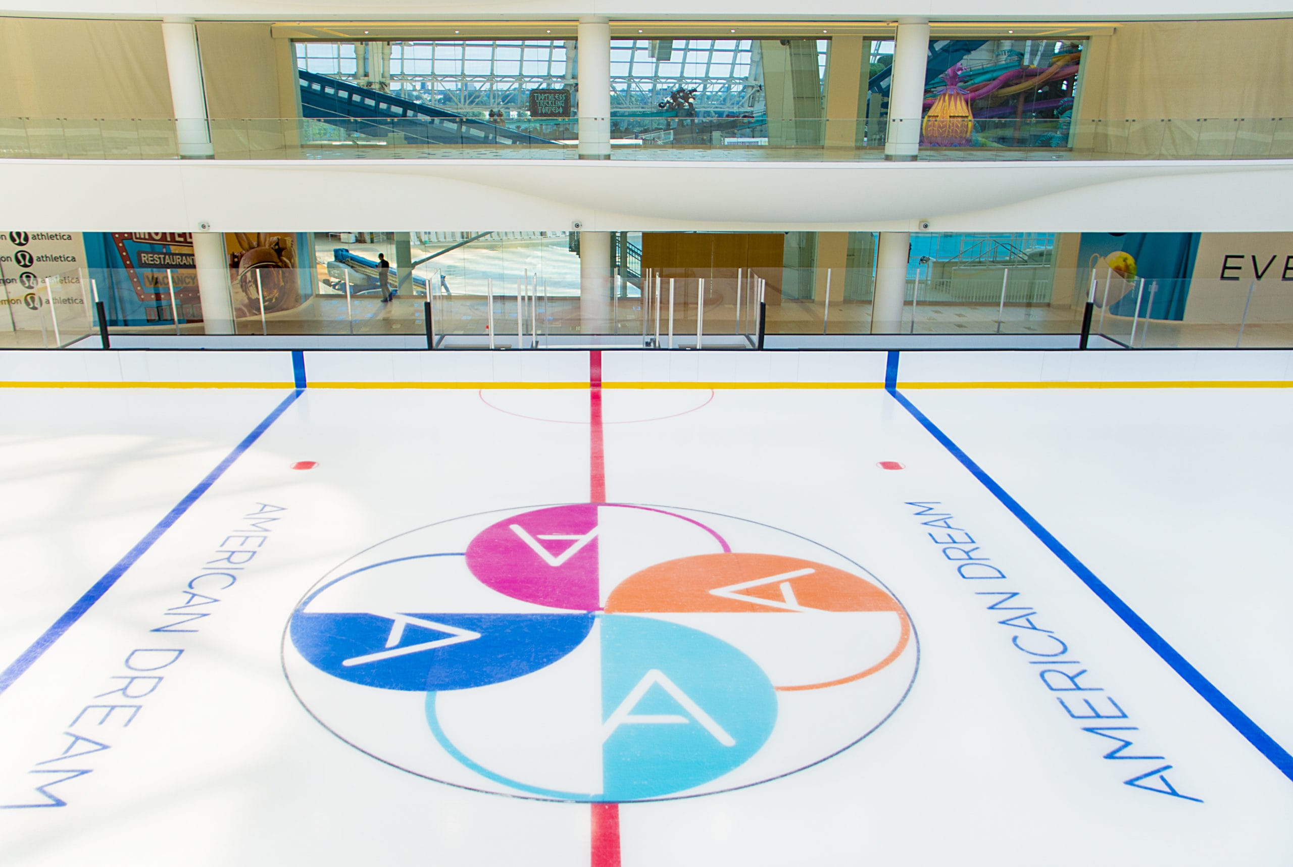 American Dream ice rink