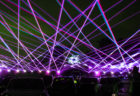 Six Flags Is Lighting Up the Night With a Laser Light Show