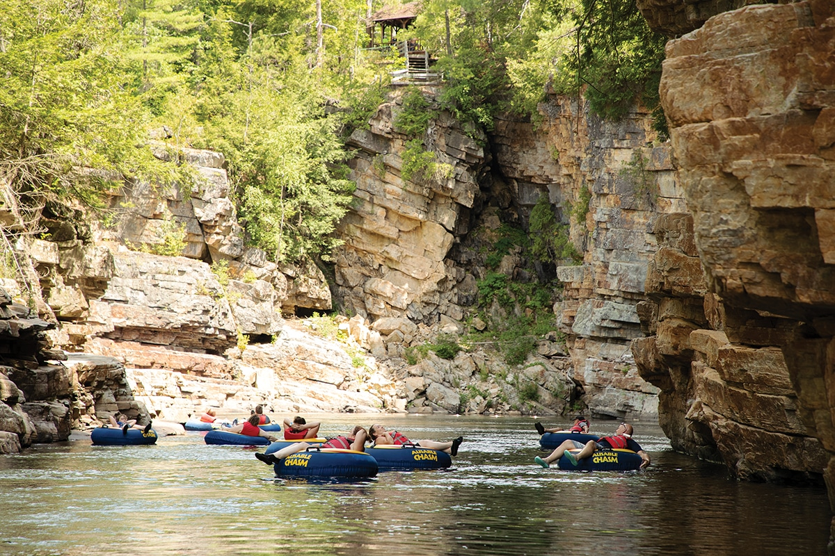 Lake Placid Adirondacks Ausable Chasm