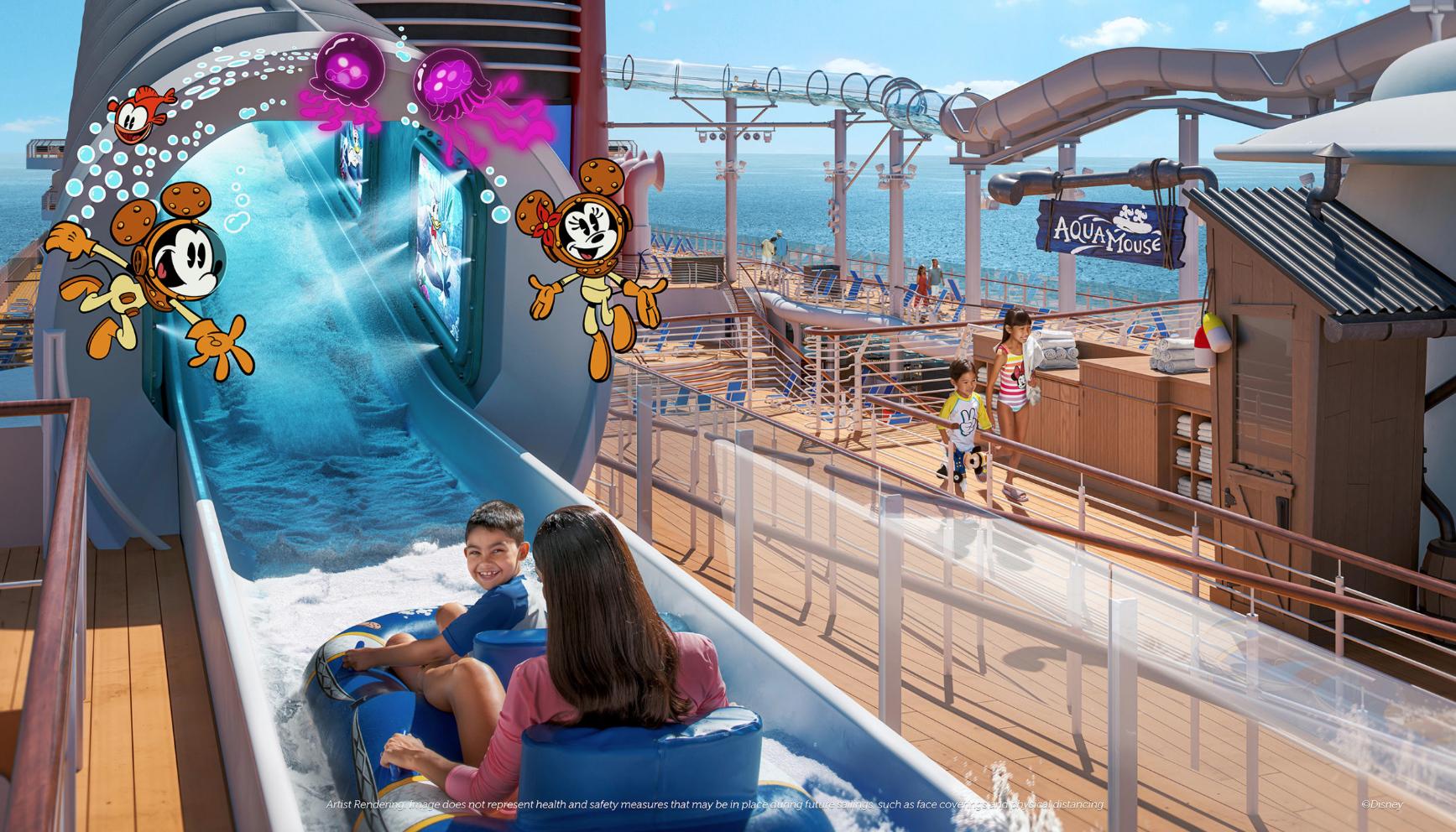 AquaMouse Disney Wish